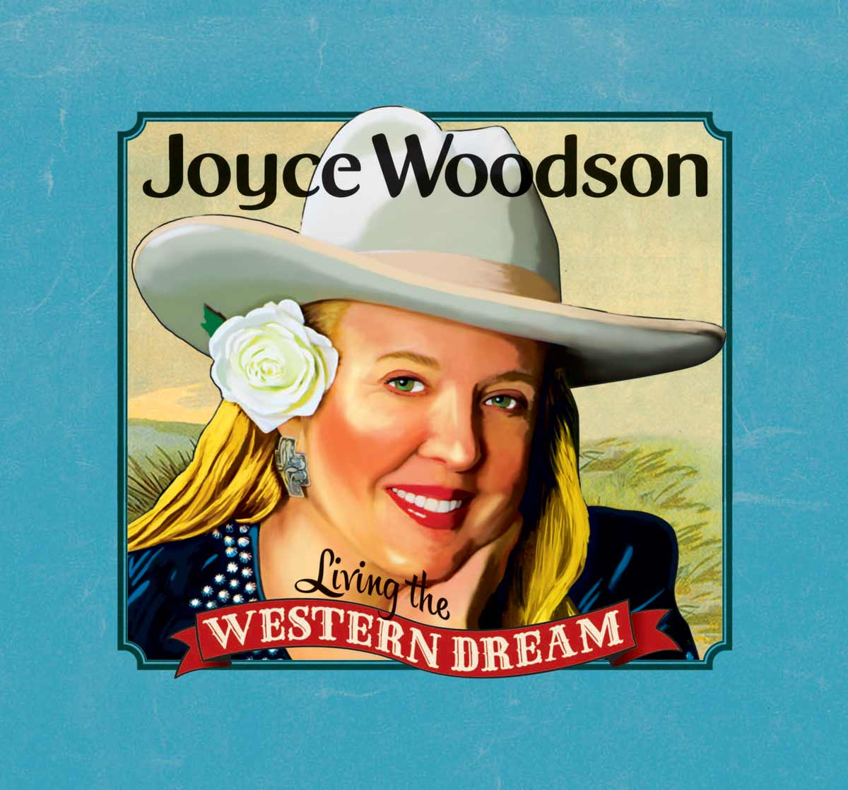 CD Cover for Living the Western Dream by Joyce Woodson